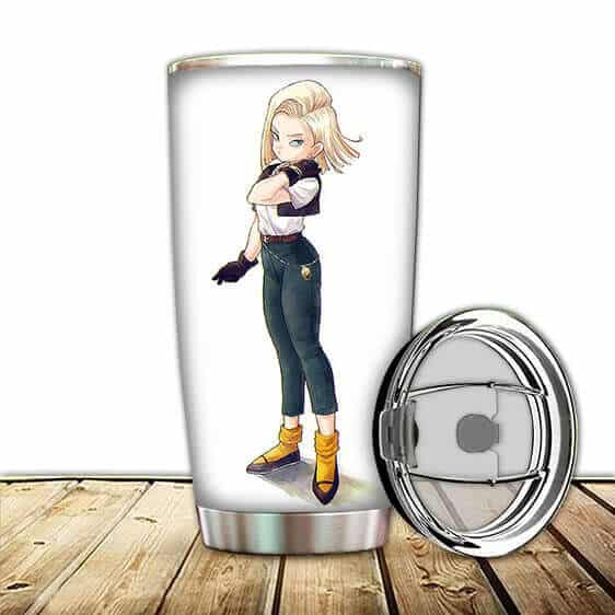 Lovely Android 18 Dragon Ball Z Girly Cool Awesome Tumbler
