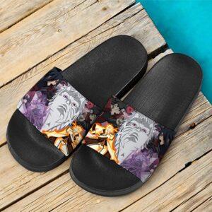 Madara Sasuke Naruto Hashirama Obito Face Off Slide Sandals