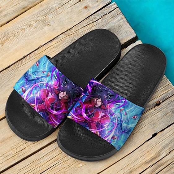 Madara Uchiha Perfect Susano Electrifying Slide Slippers