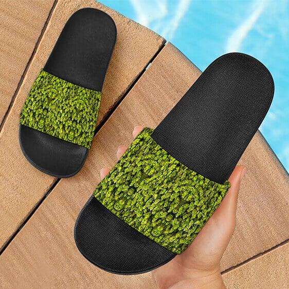 Marijuana Kush Nugs All Over Print Awesome 420 Slides Sandals