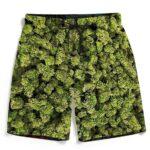 Marijuana Kush Nugs All Over Print Dope Men's Boardshorts