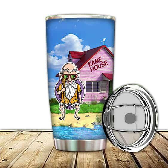 Master Roshi Kame House Island Amazing Dragon Ball Z Tumbler