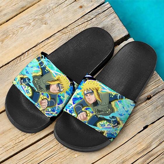 Minato Namikaze Jounin Fourth Hokage Yellow Flash Slide Sandals