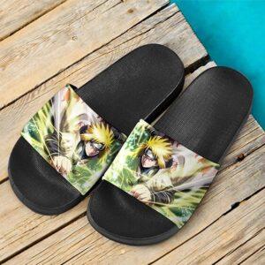 Minato Namikaze The Yellow Flash Cool Slide Footwear