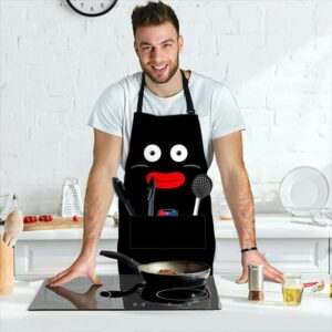 Mr Popo Big Face Dragon Ball Z Awesome and Powerful Apron