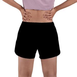 Mr. Popo's Famous Cute Face DBZ Black Women's Beach Shorts