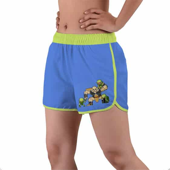 Nappa With Saibaimen Dragon Ball Women's Beach Shorts