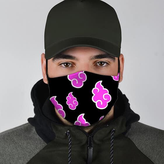 Naruto Akatsuki Black Pink Awesome and Supercool Face Mask
