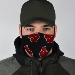 Naruto Akatsuki Pattern Cool Awesome and Powerful Face Mask