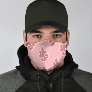 Naruto Akatsuki Pink Pattern Awesome and Supercool Face Mask