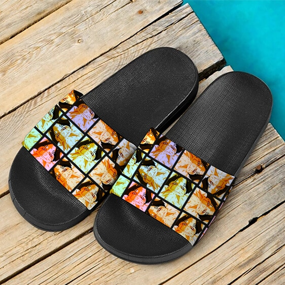 Naruto Bijuu Mode Tailed Beast Form Cool Slide Slippers
