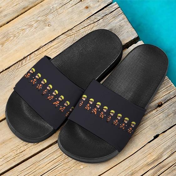 Naruto Chibi Cute Walking Design Fantastic Slide Footwear