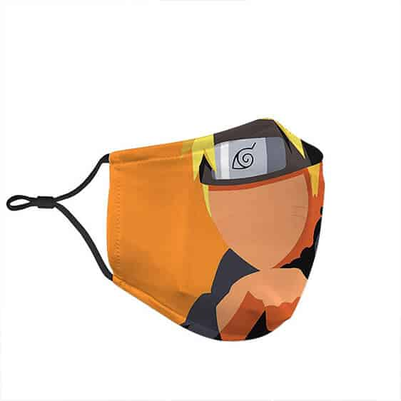 Naruto Colored Silhouette Cool Awesome Powerful Face Mask
