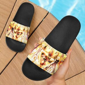 Naruto Father and Son Edo Tensei Minato Kurama Slide Sandals