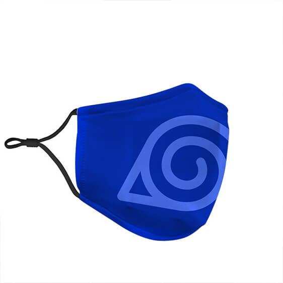 Naruto Hidden Leaf Village Shinobi Symbol Cloth Face Mask