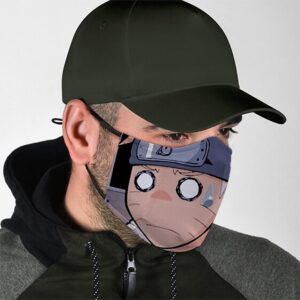 Naruto Petrified Look Naruto Cool and Super Awesome Facemask