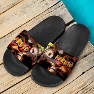 Naruto Shippuden Kyubi Chakra Fantastic Slide Slippers