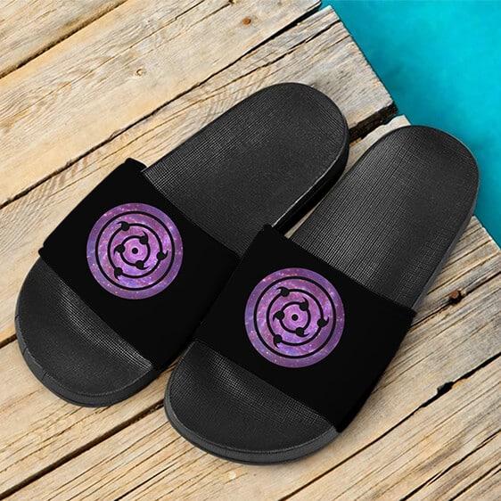 Naruto Shippuden Sasuke's Rinnegan Awesome Slide Slippers