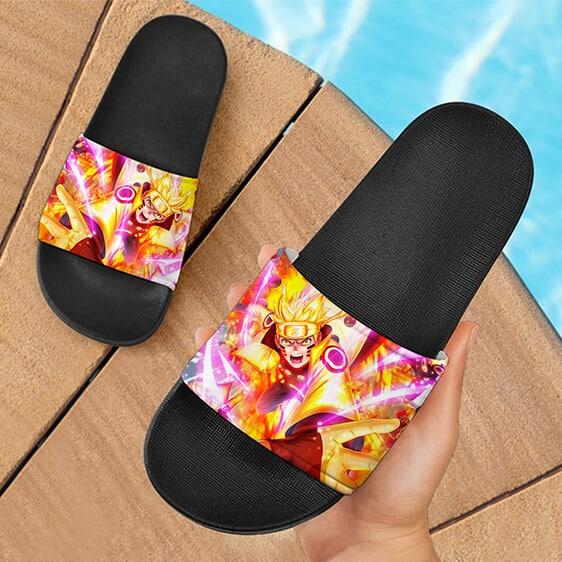 Naruto Uzumaki Six of Sage Paths Mode Awesome Slide Footwear