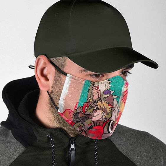 Naruto Uzumaki's Mentor Jiraiya Awesome Cloth Face Mask