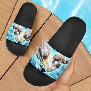 Naruto's A The Yondaime Raikage Electrifying Slide Sandals
