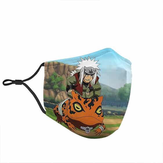 Naruto's Powerful Jiraiya Riding Gama Awesome Face Mask