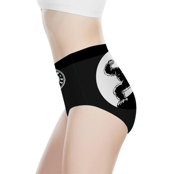 Oozaru Train Insaiyan Dragon Ball Women's High-Waist Underwear