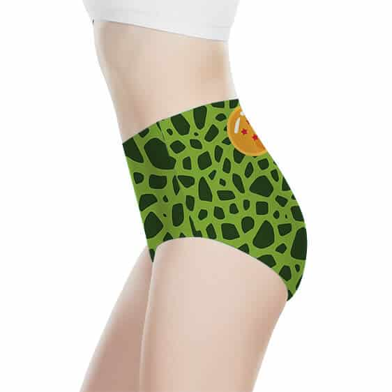 Perfect Cell Costume Dragon Ball Z Awesome Women's Brief
