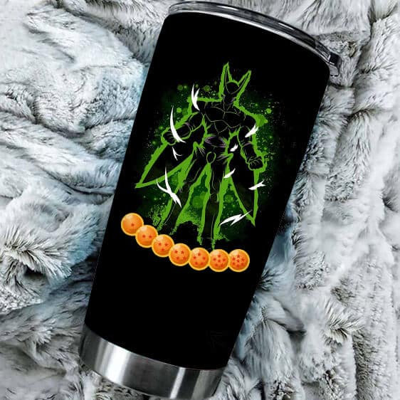Perfect Cell with Seven Dragon Balls DBZ Powerful Tumbler