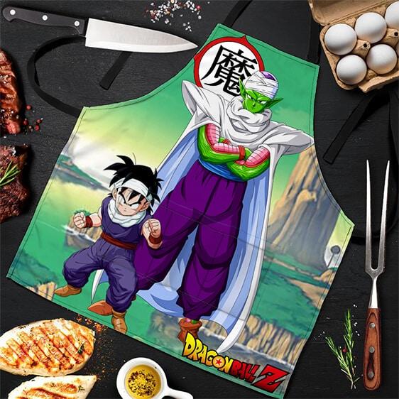 Piccolo and Son Gohan Dragon Ball Z Powerful Awesome Apron