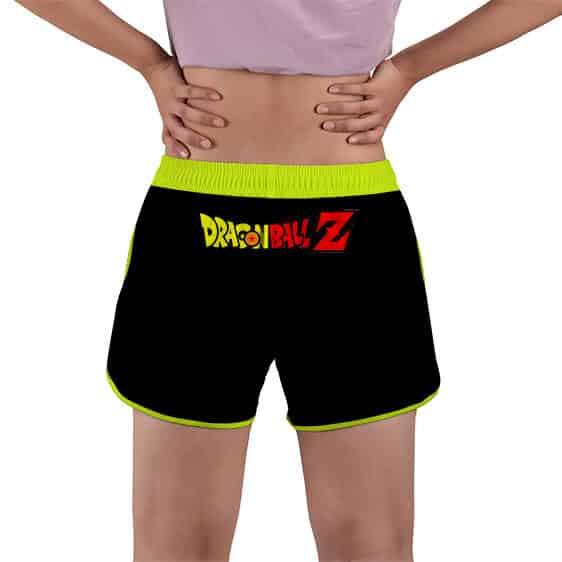 Powerful Goku And Gohan Kamehameha DBZ Women's Beach Shorts