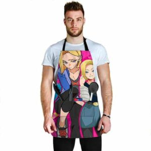 Pretty Android 18 Dragon Ball Z Cool Hip and Awesome Apron