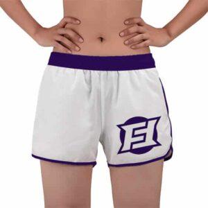 Purple Frieza Force Logo Dragon Ball Super Women's Swim Shorts