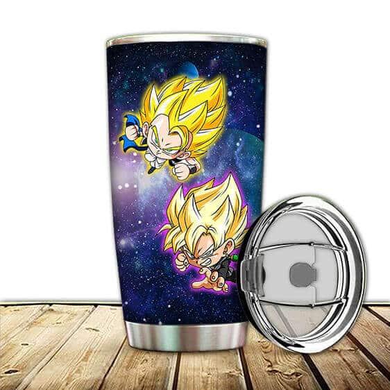 SSJ Gogeta And SSJ Goku Black Dragon Ball Super Cool Tumbler
