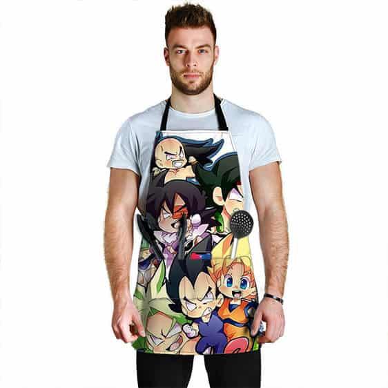 SSJ Son Goku Vegeta and the Saiyans Dragon Ball Z Cool Apron