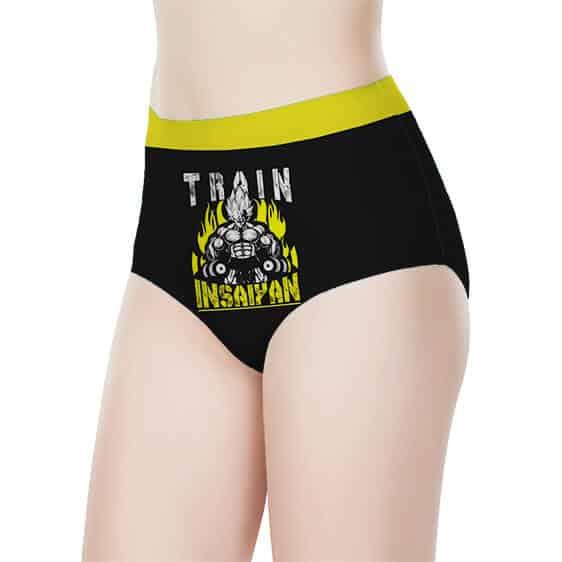 SSJ Vegeta Train Insaiyan Dragon Ball Z Awesome Women's Brief
