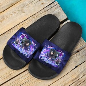 Sasuke Vs Itachi Arc Ninja Blazing Design Awesome Slide Footwear