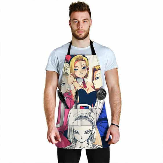 Sexy Android 18 Dragon Ball Z Cute Cool and Powerful Apron