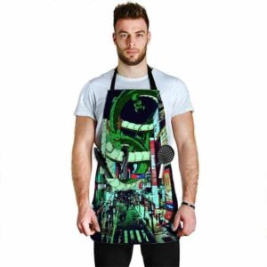 Shenron at Tokyo City Dragon Ball Z Cool and Awesome Apron