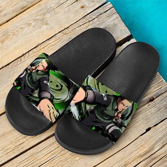 Shikamaru Nara of Team Asuma Shadow Imitation Slide Sandals