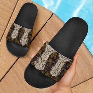 Snoop Dogg Blunts Joints & Marijuana Portrait Slide Sandals