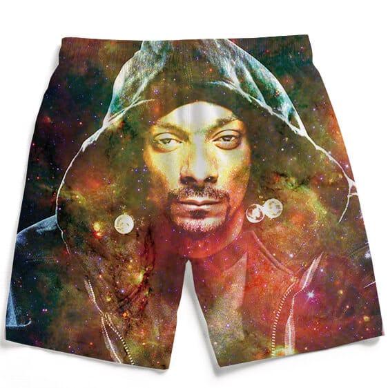 Snoop Dogg Galactic Stoner Marijuana 420 Men's Beach Shorts