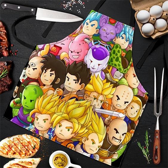 Son Goku Heroes and Villains Dragon Ball Super Cool Apron