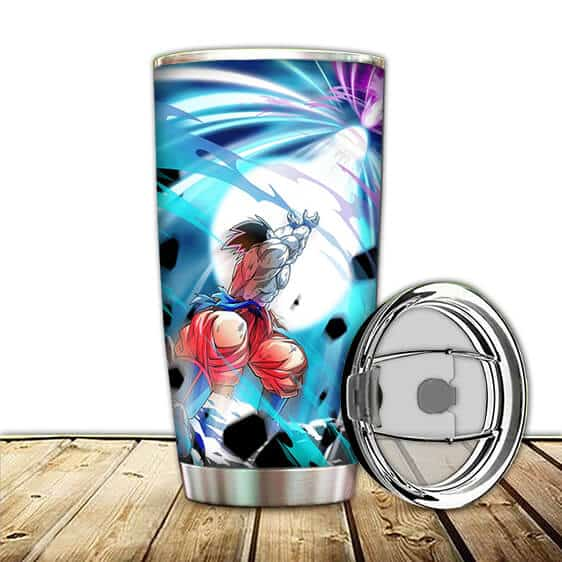 Son Goku Kamehameha Energy Attack Dragon Ball Z Tumbler