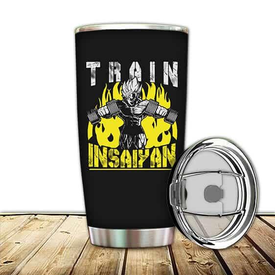 Son Goku Train Insaiyan Dragon Ball Z Cool Fierce Tumbler