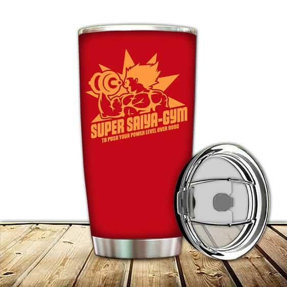 Super Saiya-Gym To Push Your Power Level Over 9000 Tumbler