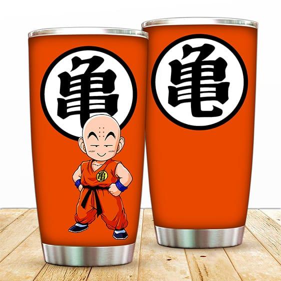 Kid Krillin Kame Kanji Dragon Ball Z Cute And Cool Tumbler