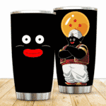 Mr. Popo Face and Four-Star Dragon Ball DBZ Awesome Tumbler