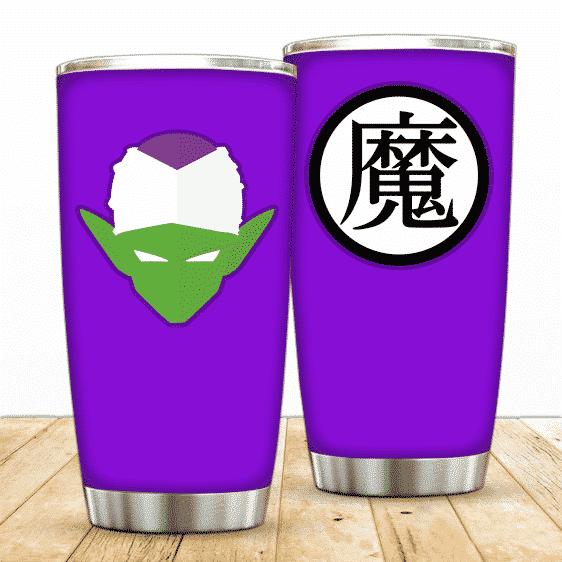 Dragon Ball Z Cool Piccolo Head With Kanji Symbol Tumbler