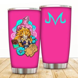 SSJ Gotenks And Evil Majin Buu Dragon Ball Z Cool Tumbler